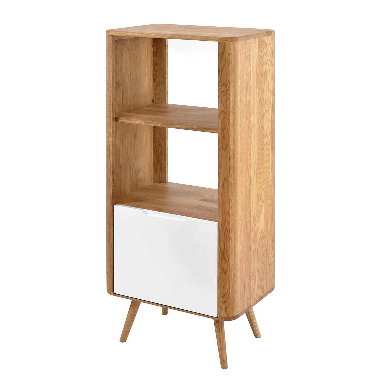 regal loca wildeiche teilmassiv 125 cm g nstig kaufen. Black Bedroom Furniture Sets. Home Design Ideas