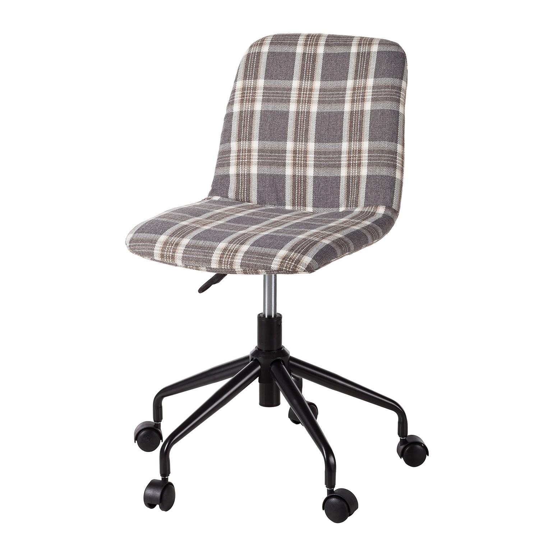 Home 24 - Chaise de bureau vetla - tissu / matériau synthétique - crème, home24 office