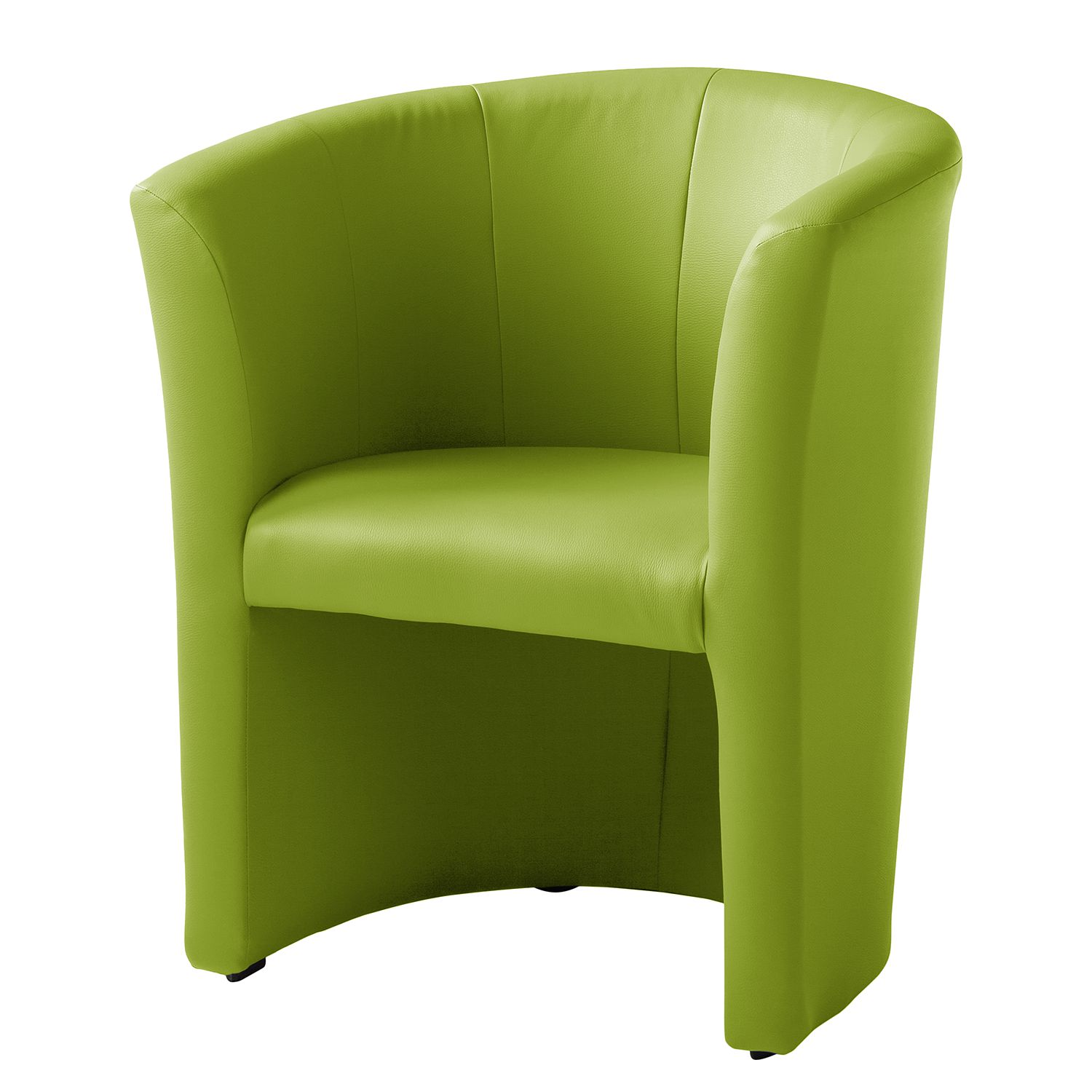 Fauteuil cocktail Wagait - Imitation cuir - Vert pomme, mooved