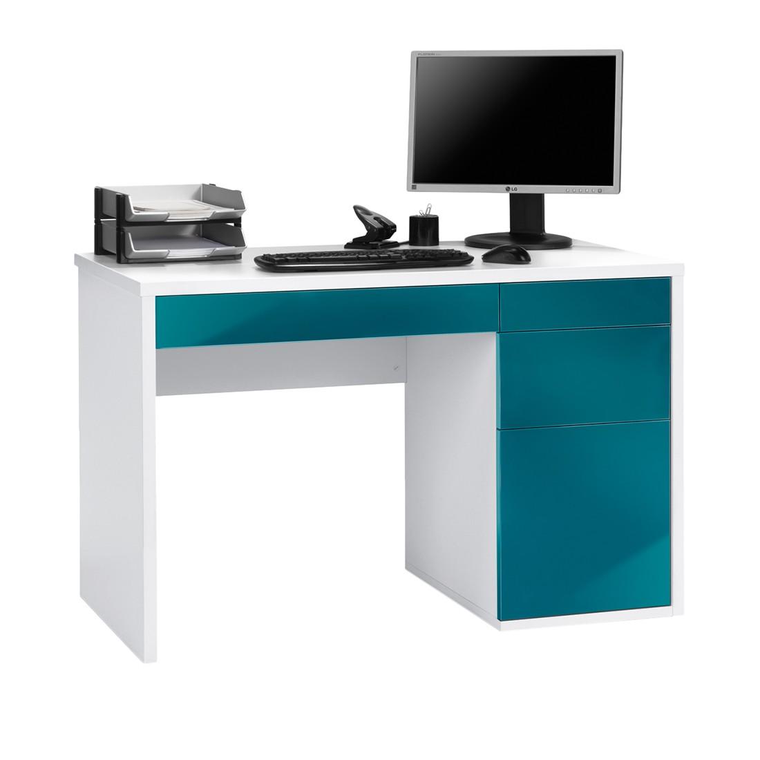computer schreibtisch weiss. Black Bedroom Furniture Sets. Home Design Ideas