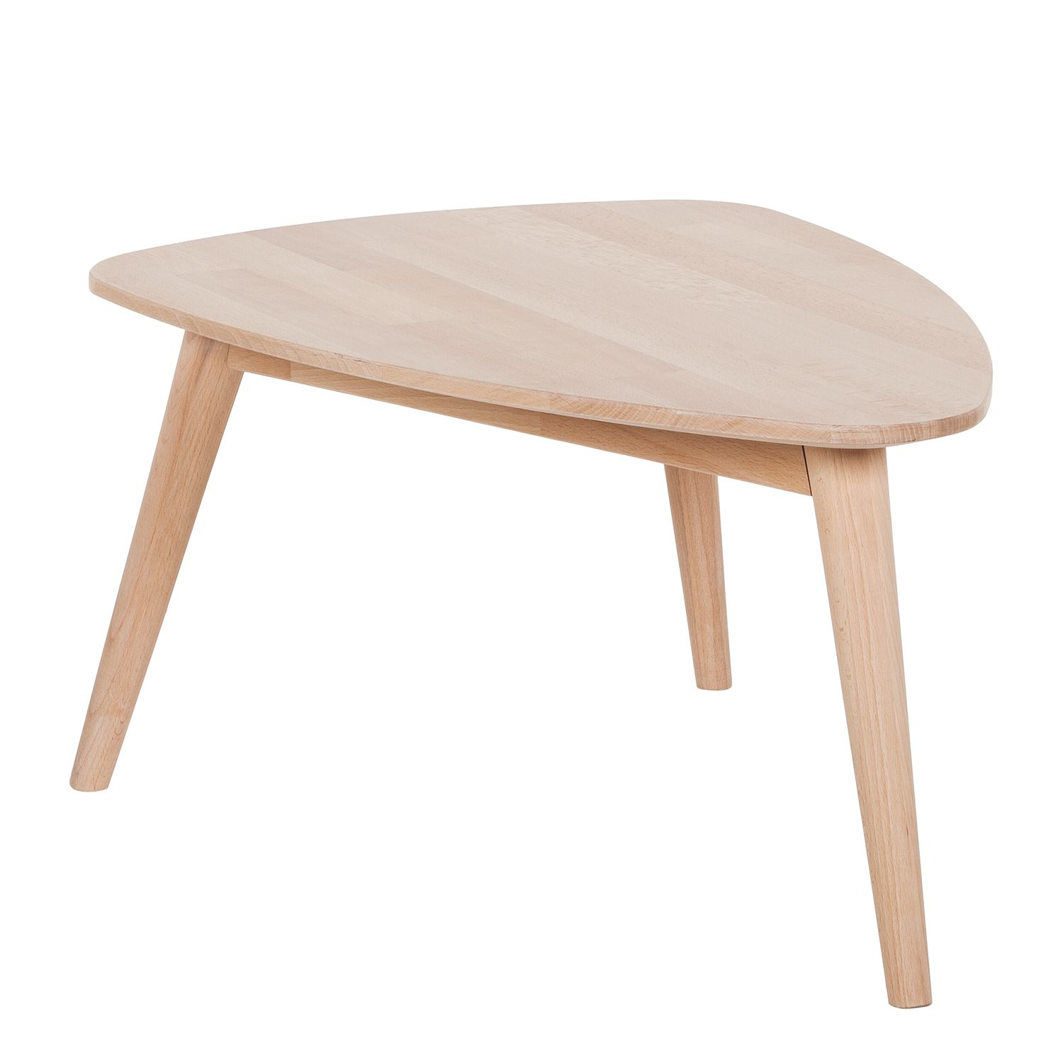 Table basse Finsby - Hêtre massif - 70 x 50 cm, Morteens