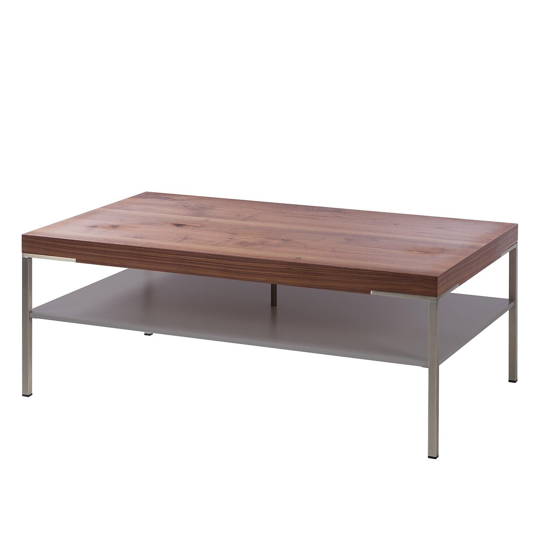 Couchtisch Anzio - Astnussbaum / Matt Fango - 110 x 65 cm