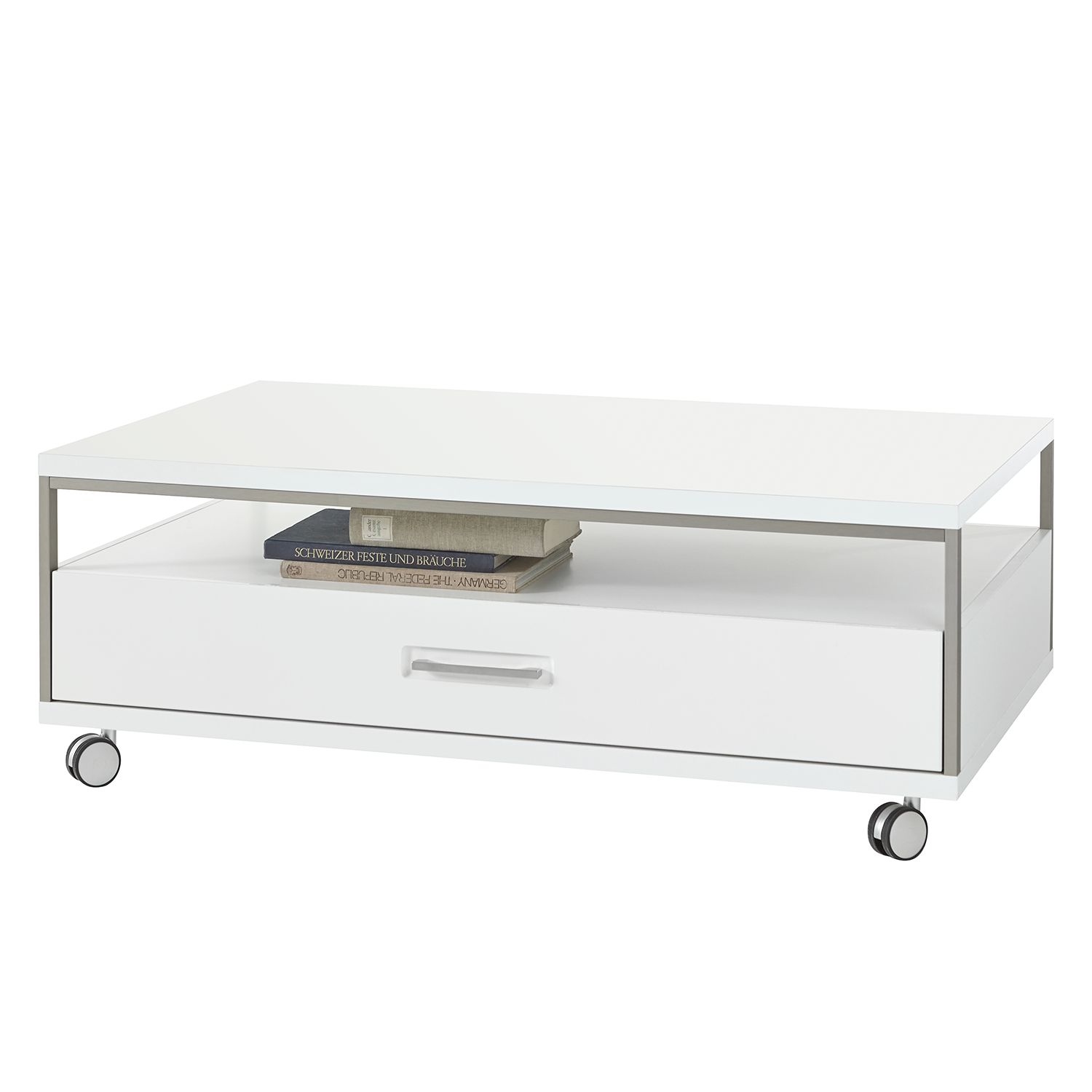 Table basse Kushiro - Blanc, loftscape