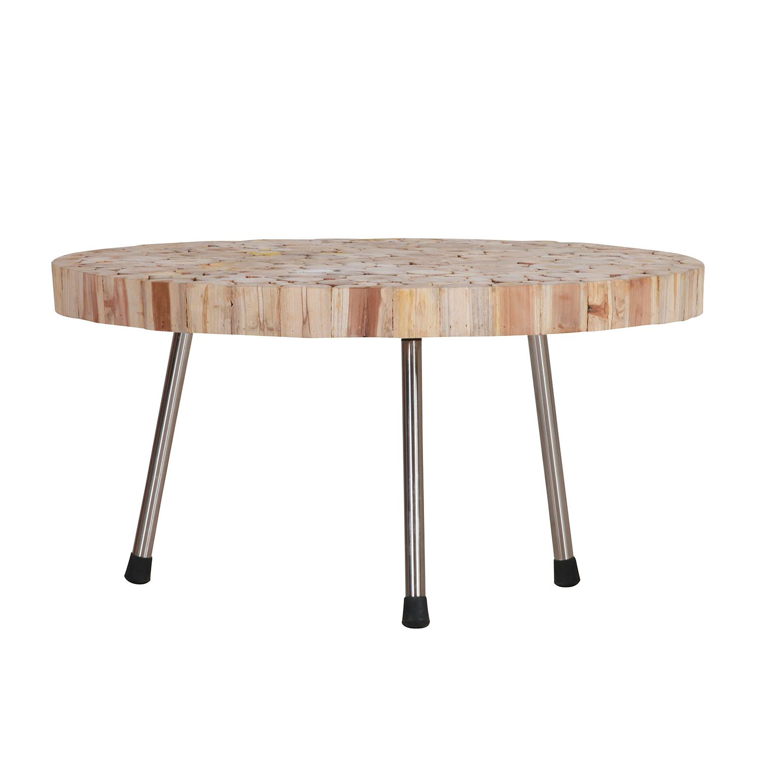 Table basse Atwater - Teck massif, Red Living