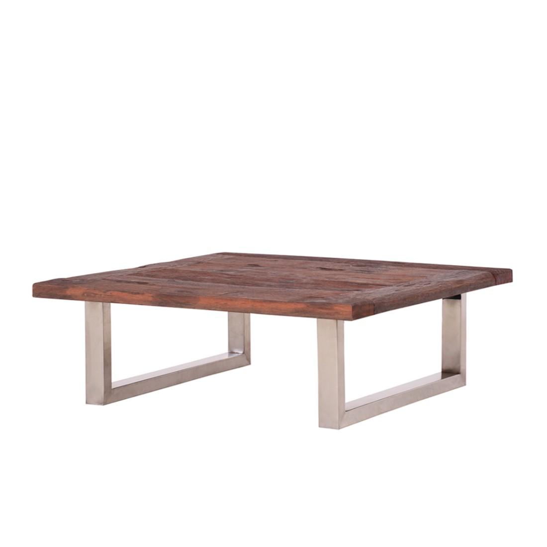 Divano da salotto Balance - 100% legno antico marrone non trattato, ars manufacti