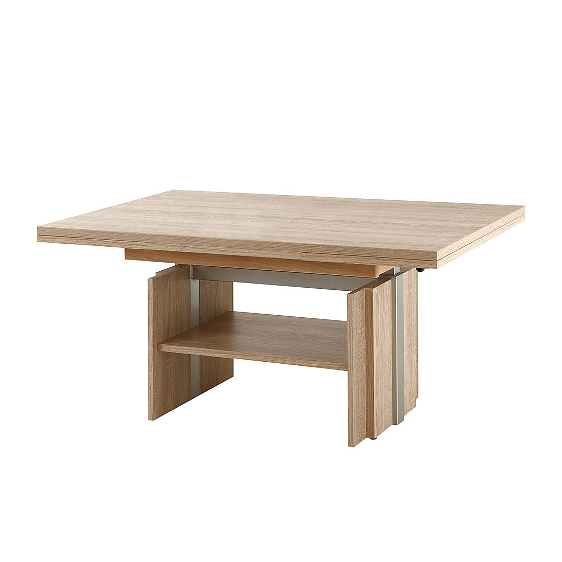 Table basse Beate (extractible) - Imitation chêne Sonoma, Modoform