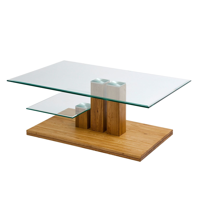 Table basse Canella I - Chêne noueux massif, Ars Natura