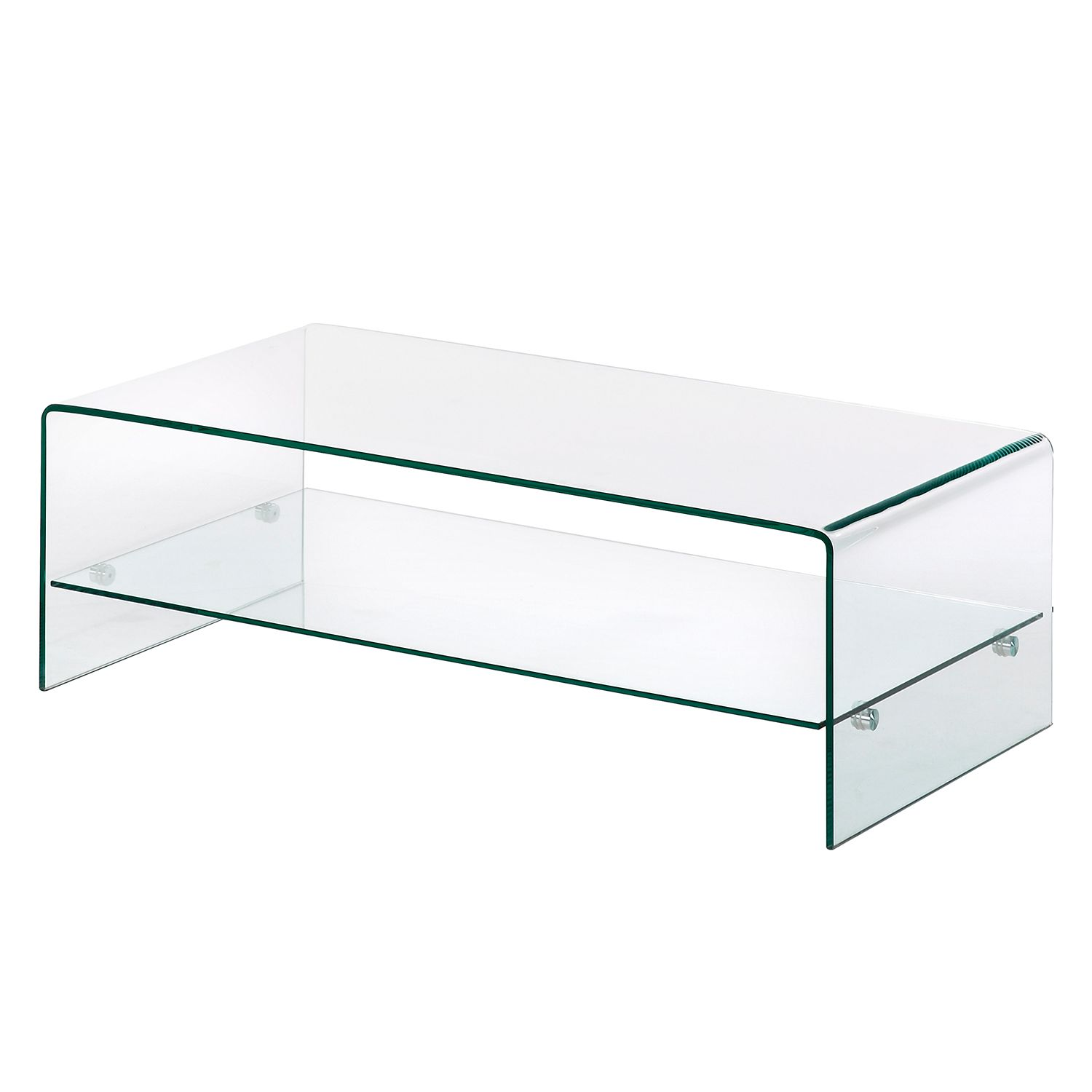 Table basse Drap - Verre, Fredriks