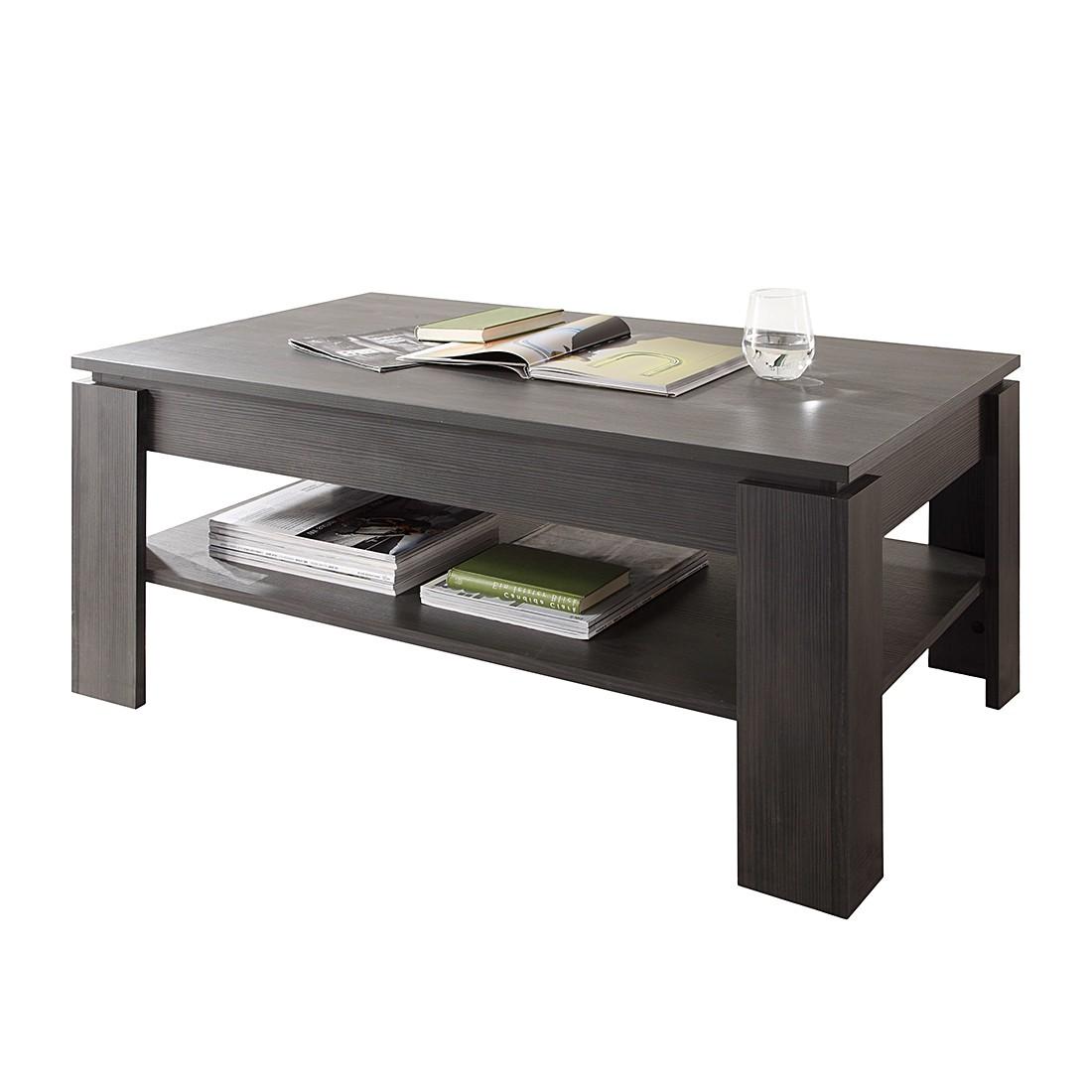 Table basse Elliot - Imitation frêne gris, Trendteam