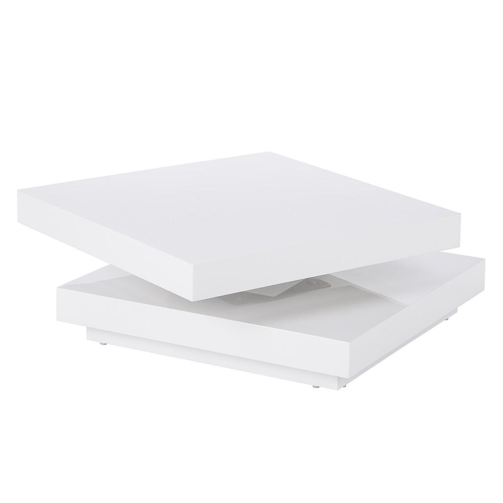 Table basse Emblaze - Blanc brillant, Fredriks