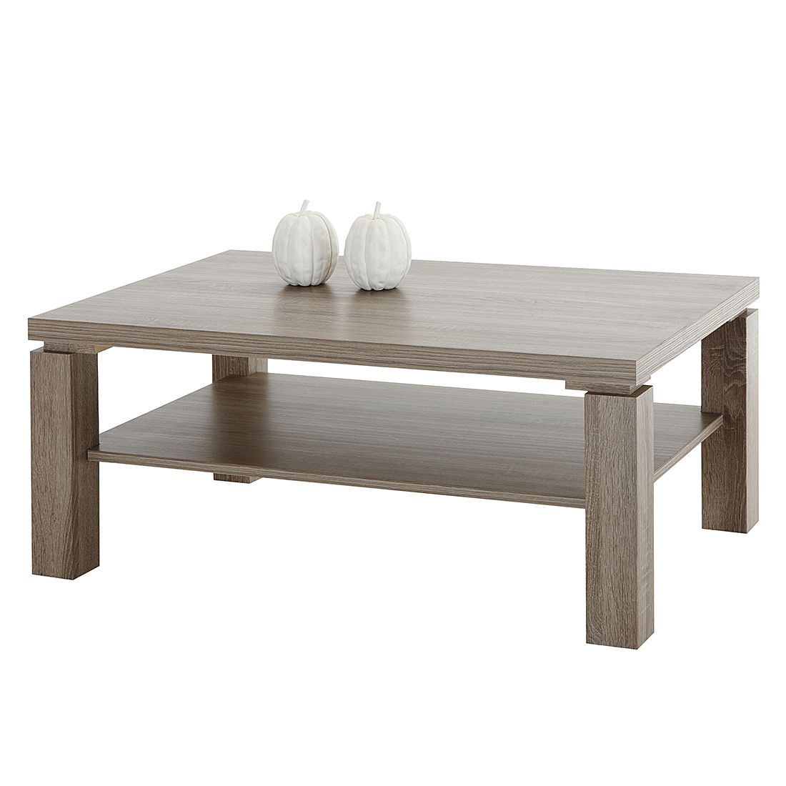 Table basse Ethan - Imitation chêne truffier, Home Design
