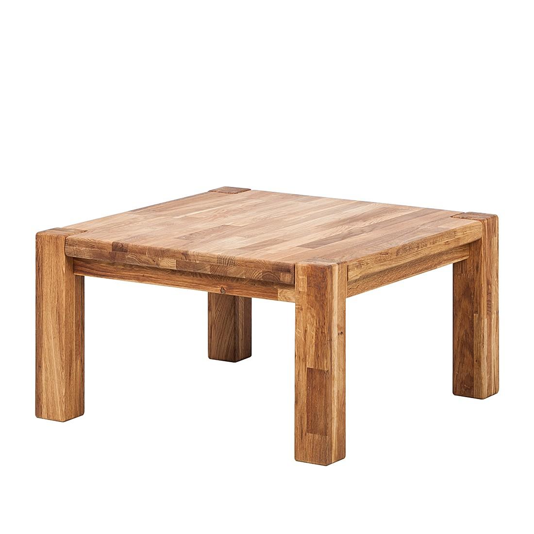 Tavolino da salotto RichWOOD I - Legno massello di quercia Oliato, Ars Natura