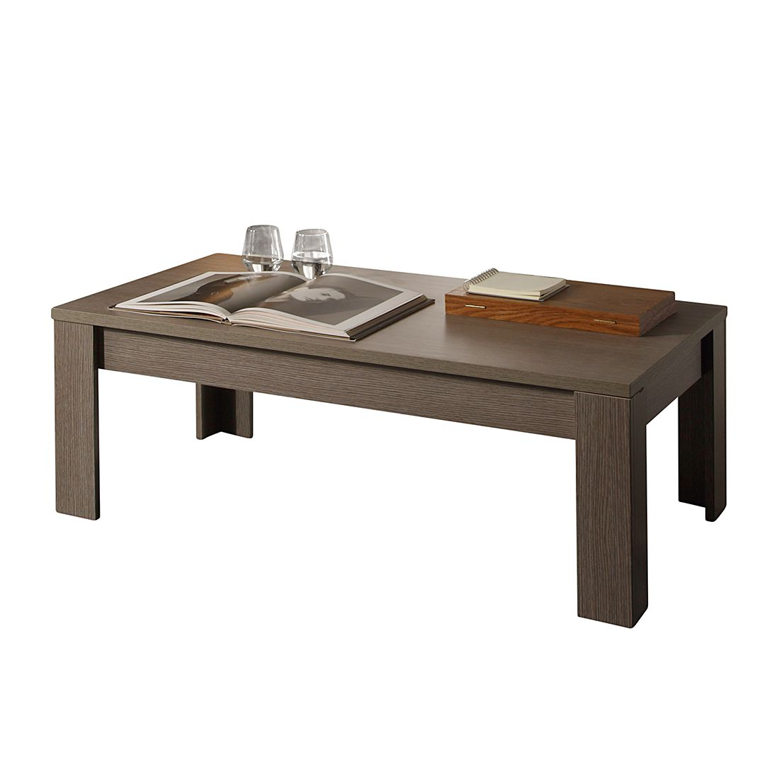 Table basse Gladiolo - Chêne gris, Lc Mobili