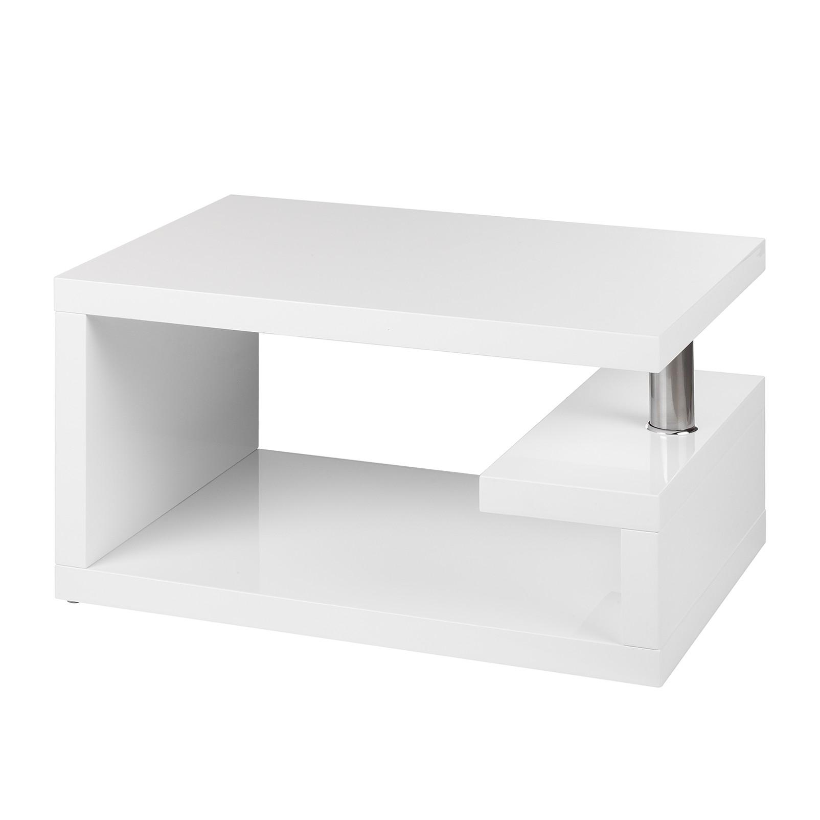 Home 24 - Table basse granby - blanc brillant, home design