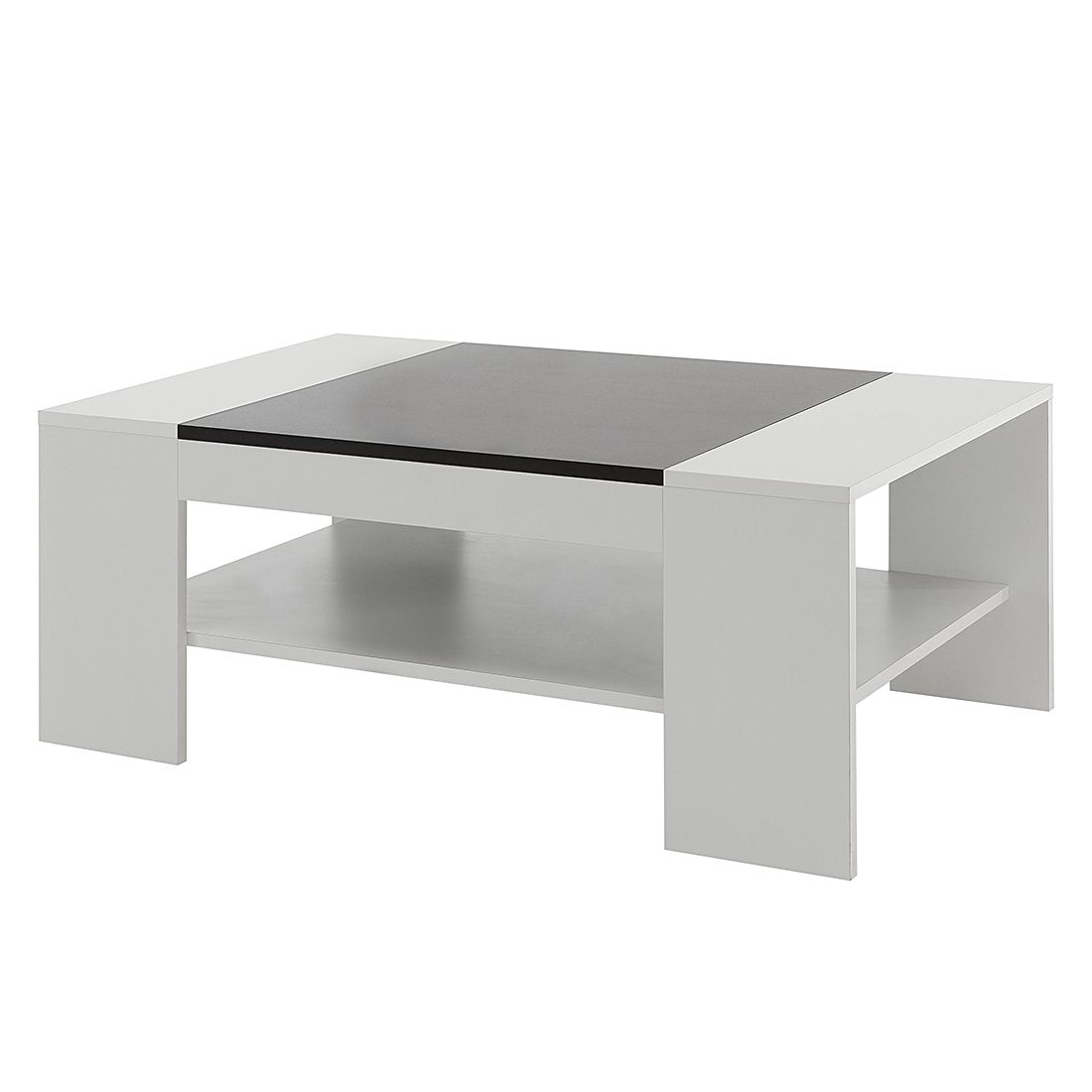 Table basse Hays - Blanc / Noir, mooved