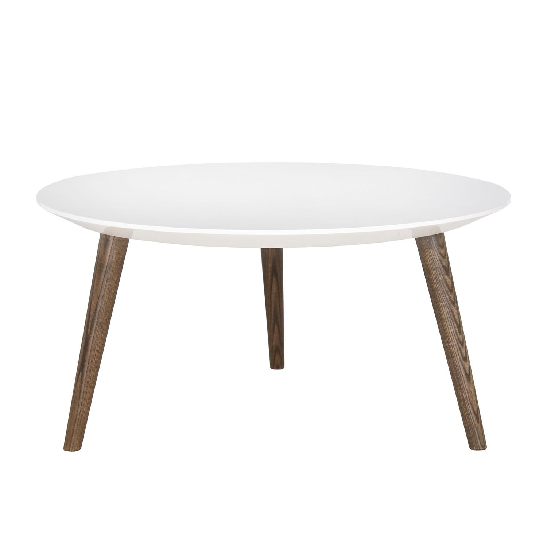 Table basse Josiah II - Fer - Blanc / Marron, Safavieh