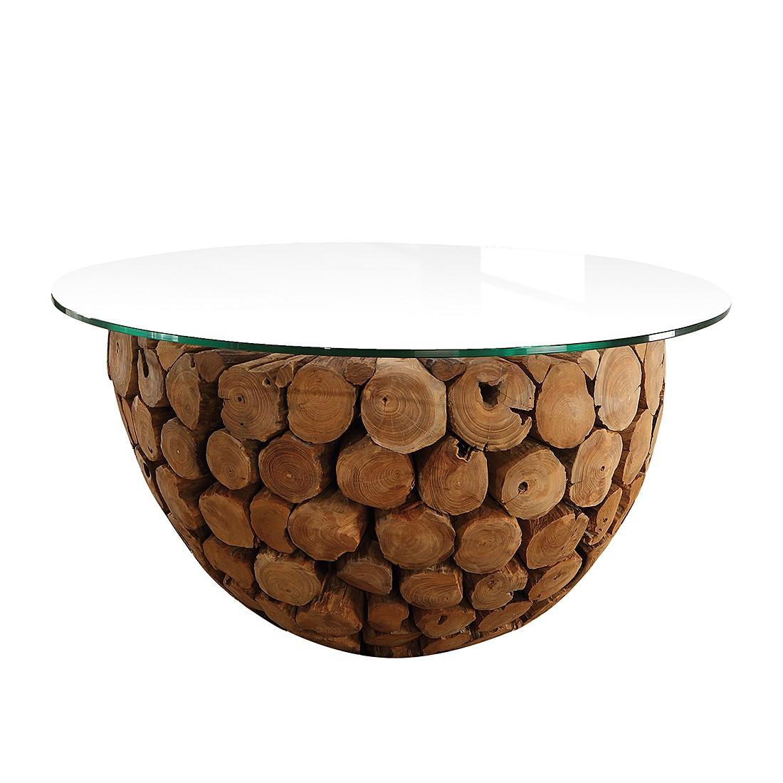 Table basse Josue - Bois recyclé - Marron, Ars Natura