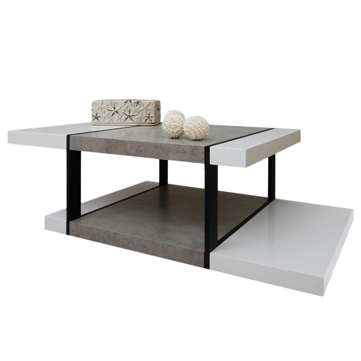 couchtisch wei hochglanz preisvergleich die besten. Black Bedroom Furniture Sets. Home Design Ideas