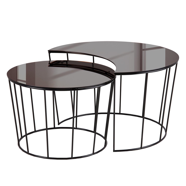 glas couchtisch schwarz preisvergleich die besten. Black Bedroom Furniture Sets. Home Design Ideas