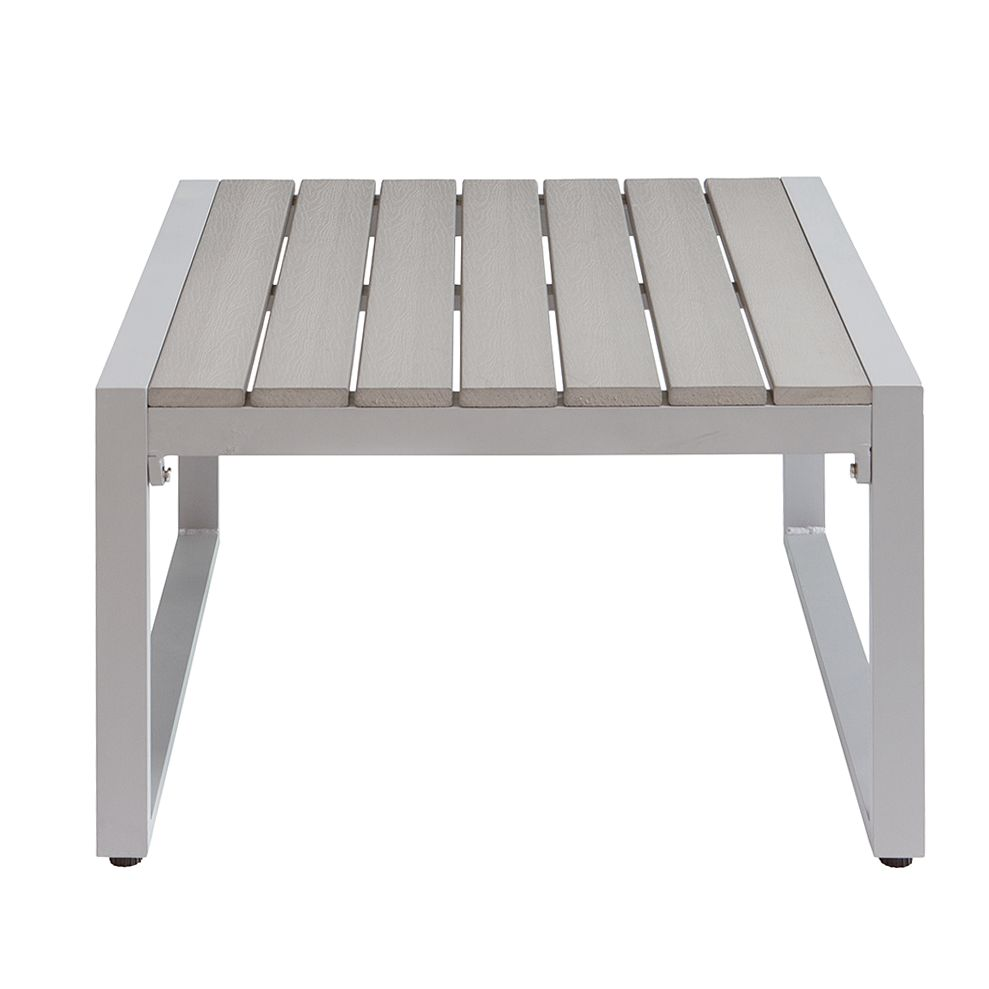Salontafel Kudo - polywood - grijs, Fredriks