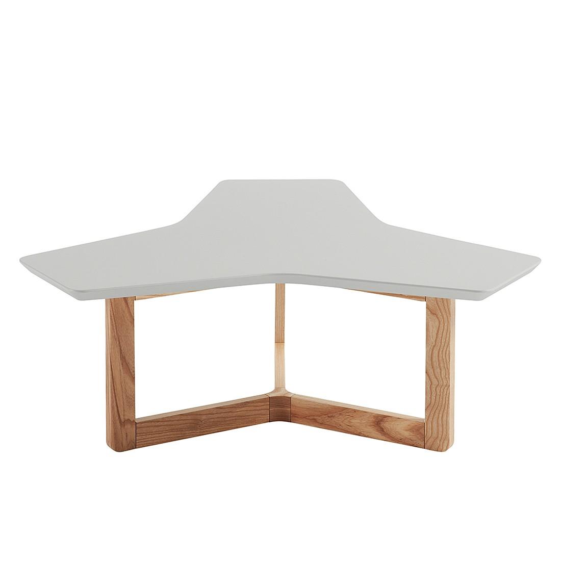 Tavolino da salotto Larne - Grigio opaco / Frassino, Morteens