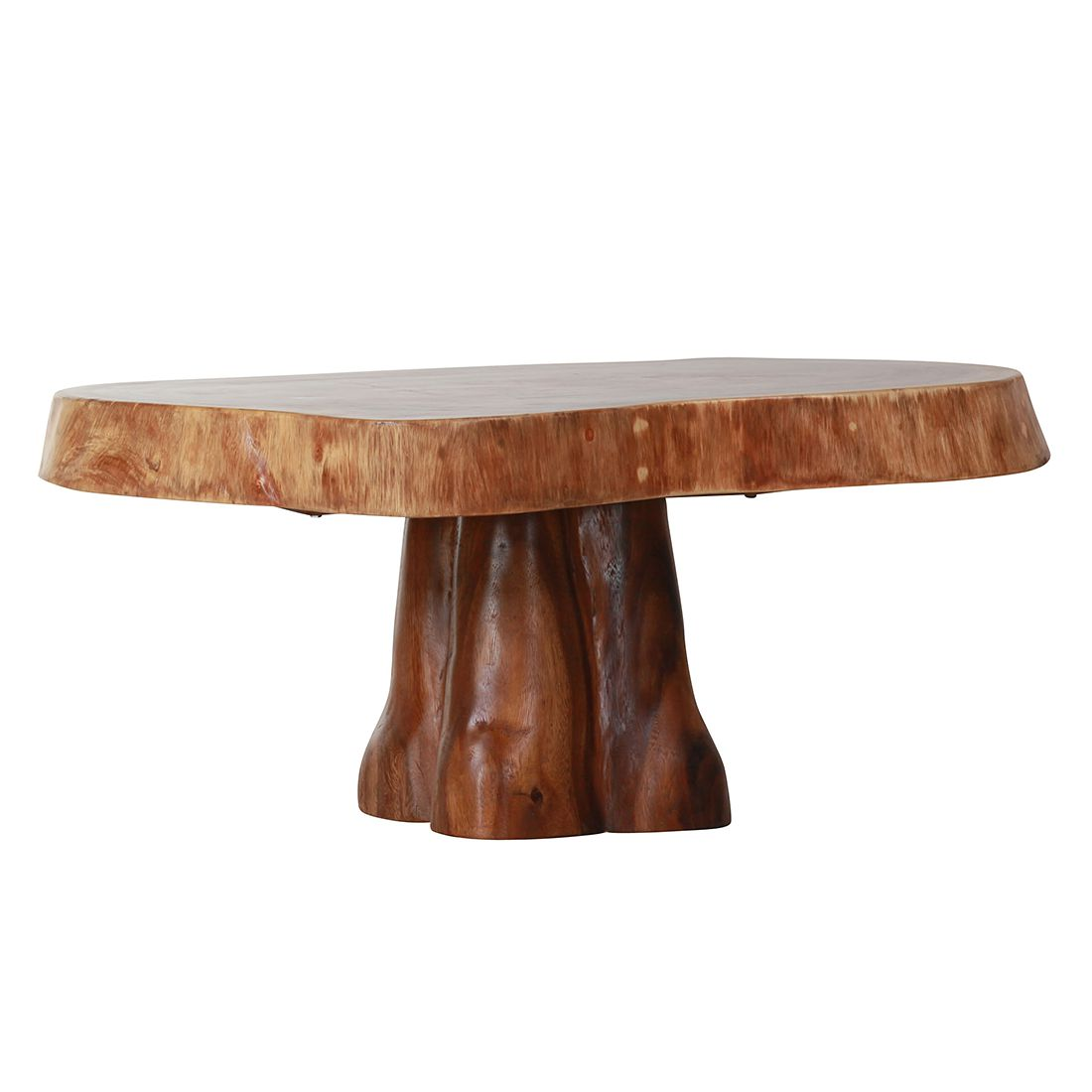 Table basse Leith - Suar massif, Red Living
