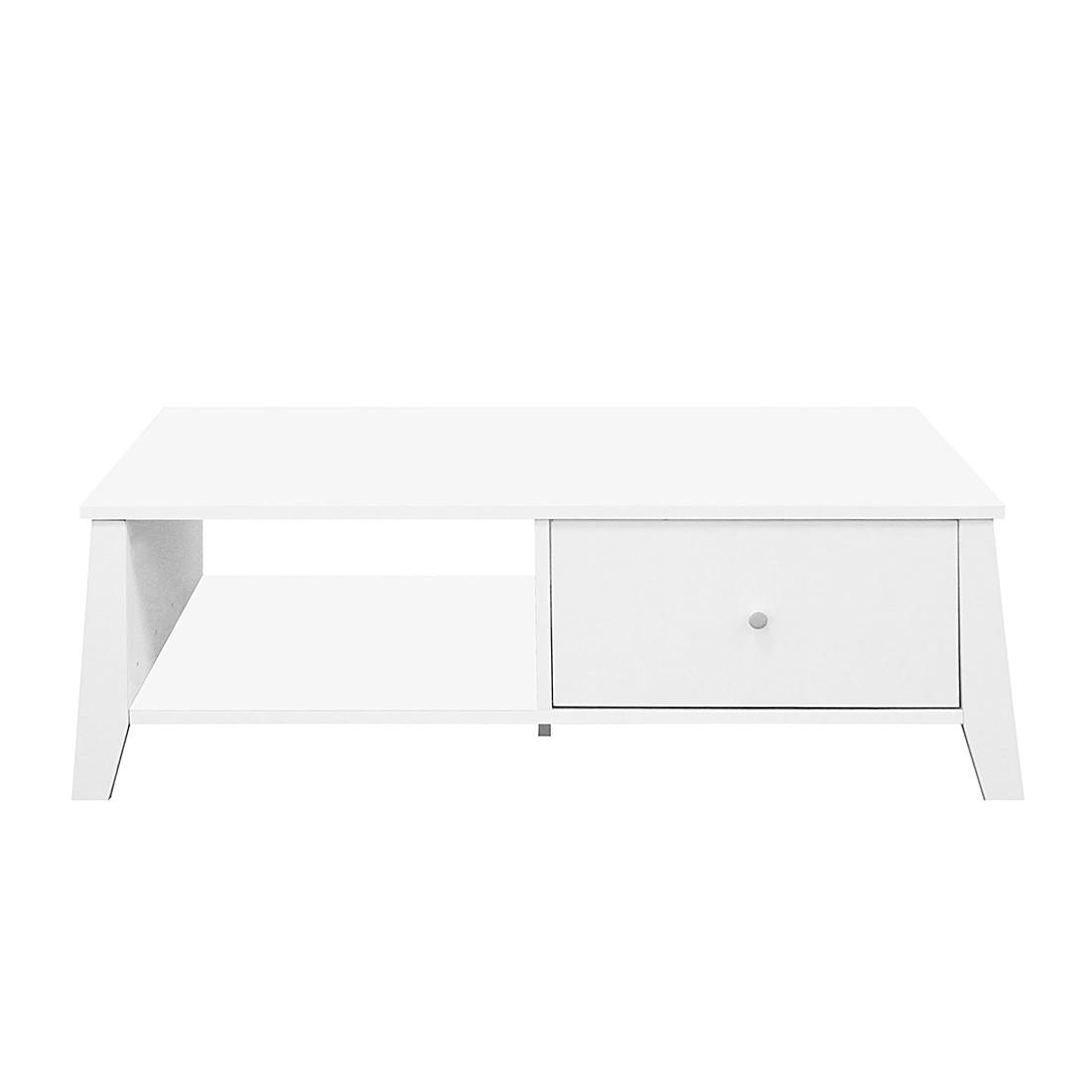 Table basse Mallund - Blanc, Maison Belfort