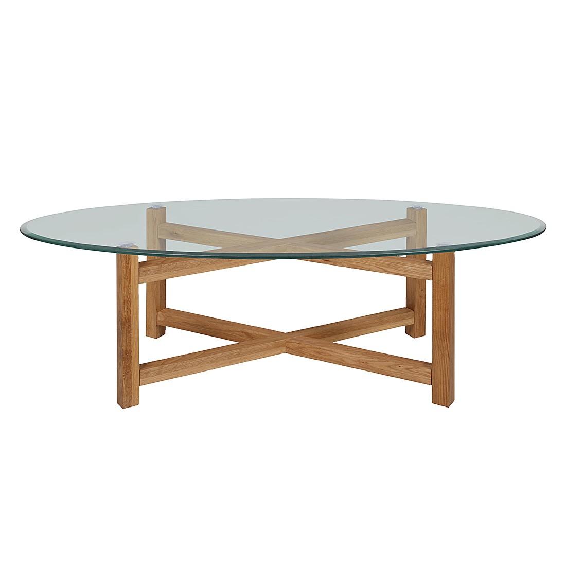 Tavolino da salotto Meliara - Legno massello di quercia oliato, Ars Natura
