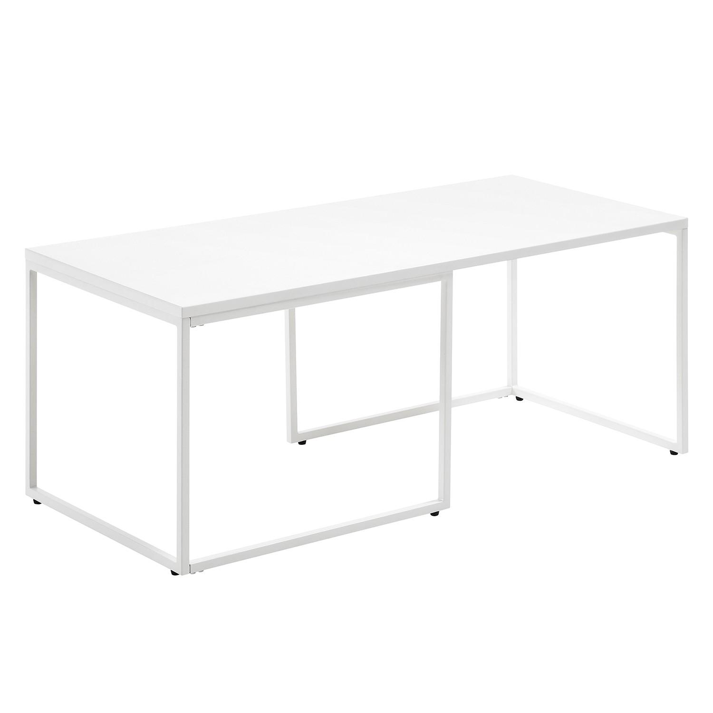 Table basse Ogden - Blanc, roomscape