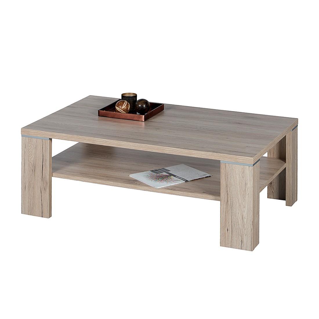 Table basse Okazaki - Imitation chêne de San Remo, mooved