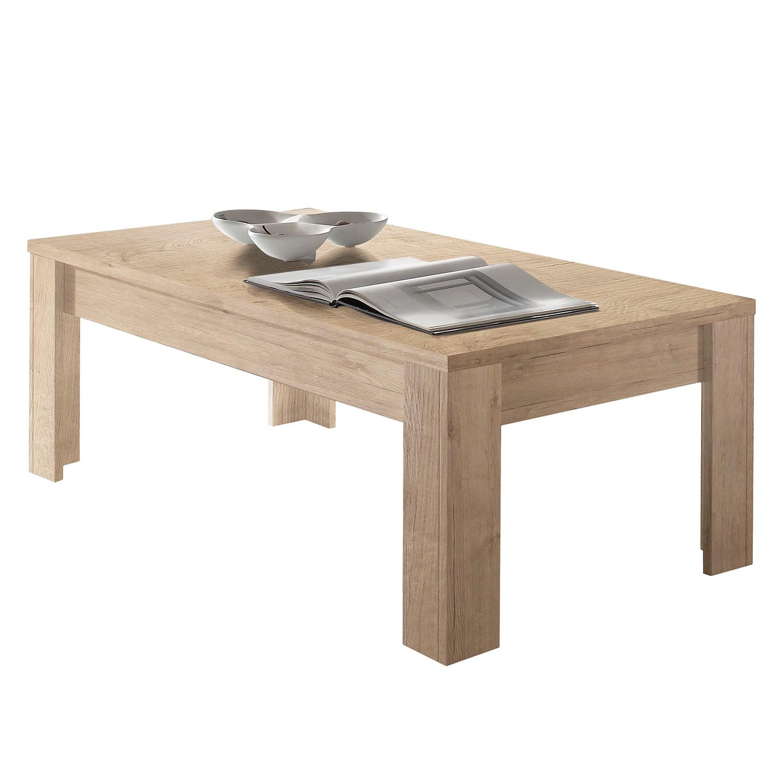 Table basse Palma II - Imitation chêne, Lc Mobili