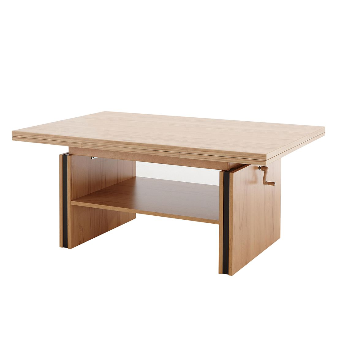 Table basse Panadura - Imitation duramen de hêtre, Modoform