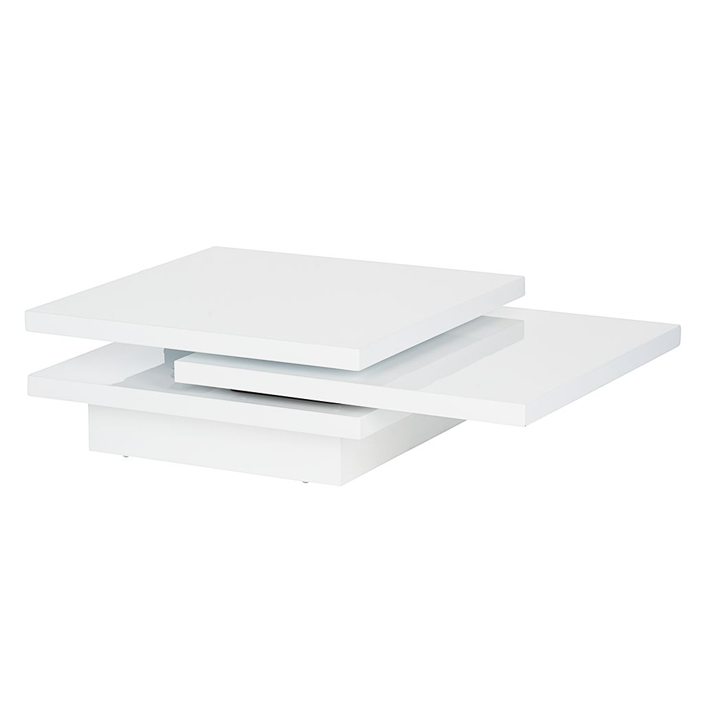 Table basse Perfect - Blanc brillant, Fredriks