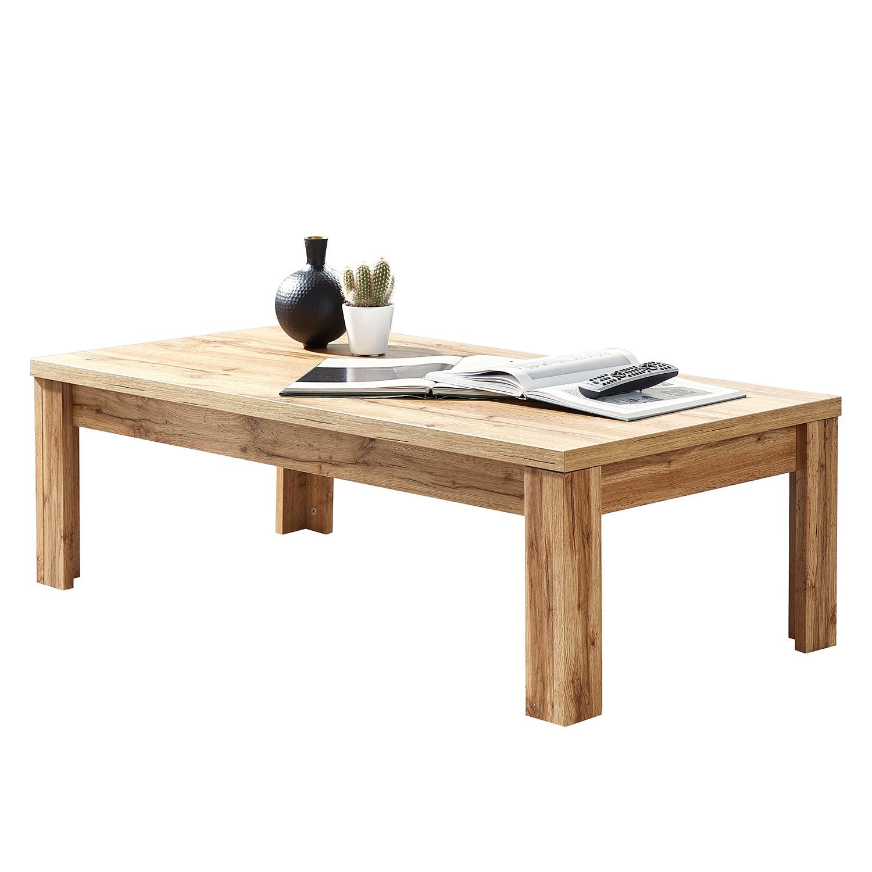 Table basse Perley - Imitation chêne, loftscape