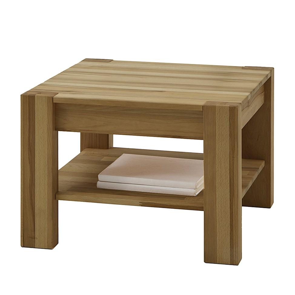 Tavolino Pia II - Legno massello di quercia selvatica Oliato, Ars Natura