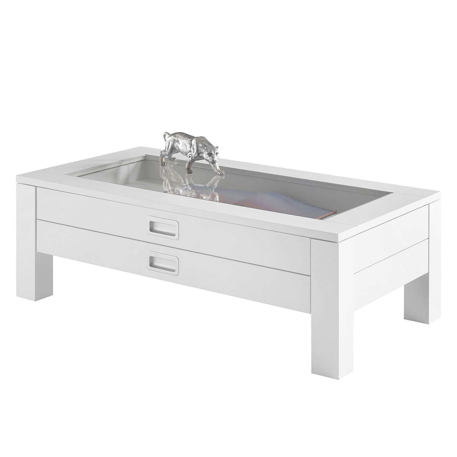 Table basse Renwer - Blanc, mooved