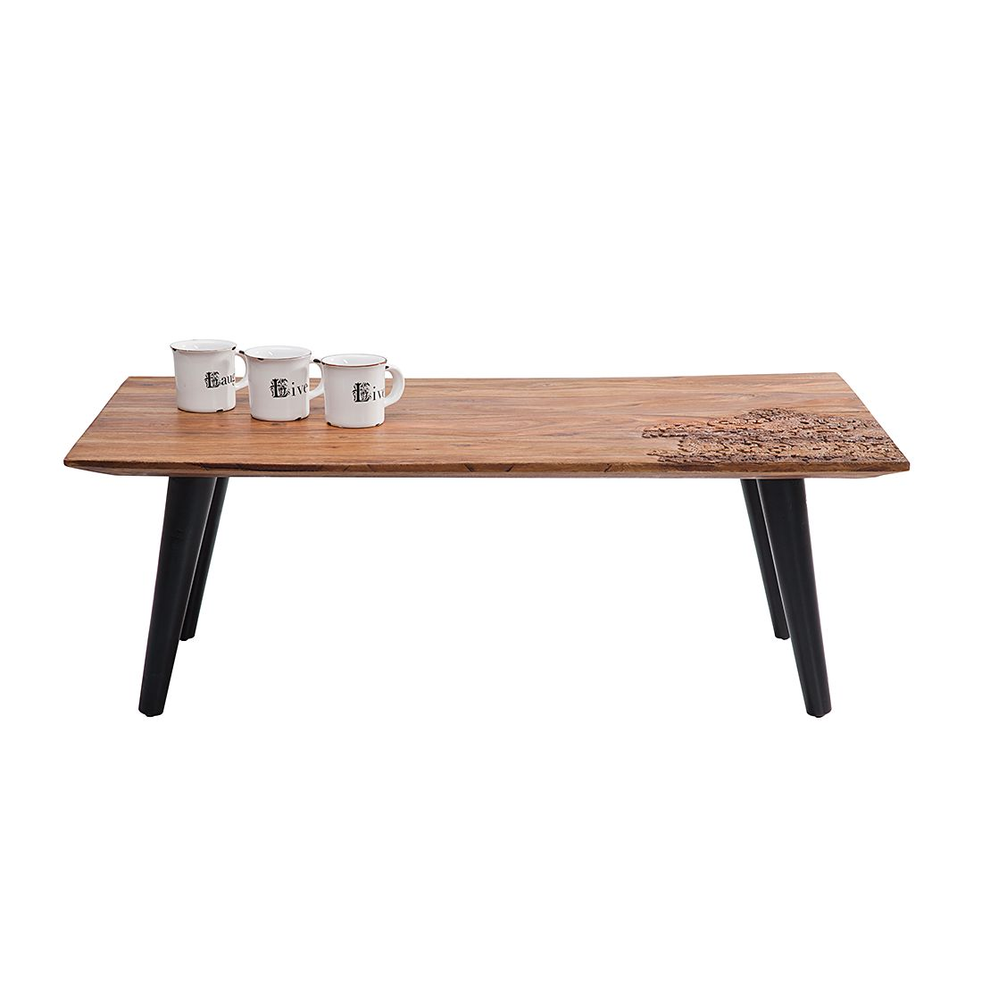 Table basse Rodeo - Sheesham massif, Kare Design