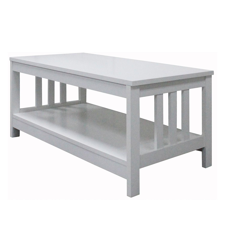 Table basse Solberg - Blanc, Maison Belfort