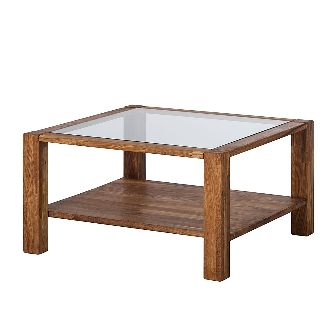 Table basse Steeve I - Chêne massif - Huilé, Ars Natura