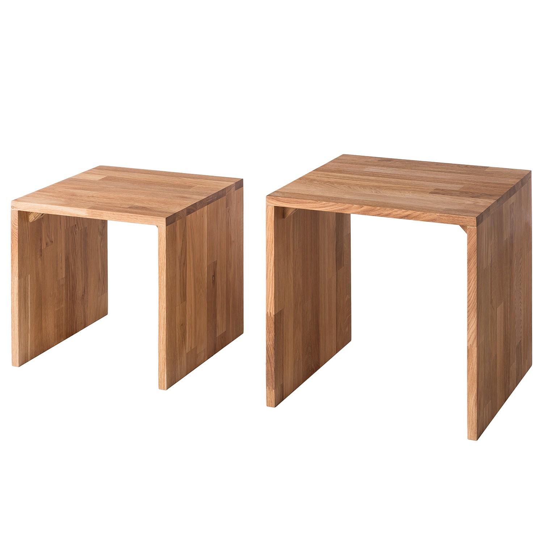 Table basse gigogne SurinWOOD (2 éléments) - Chêne, Ars Natura