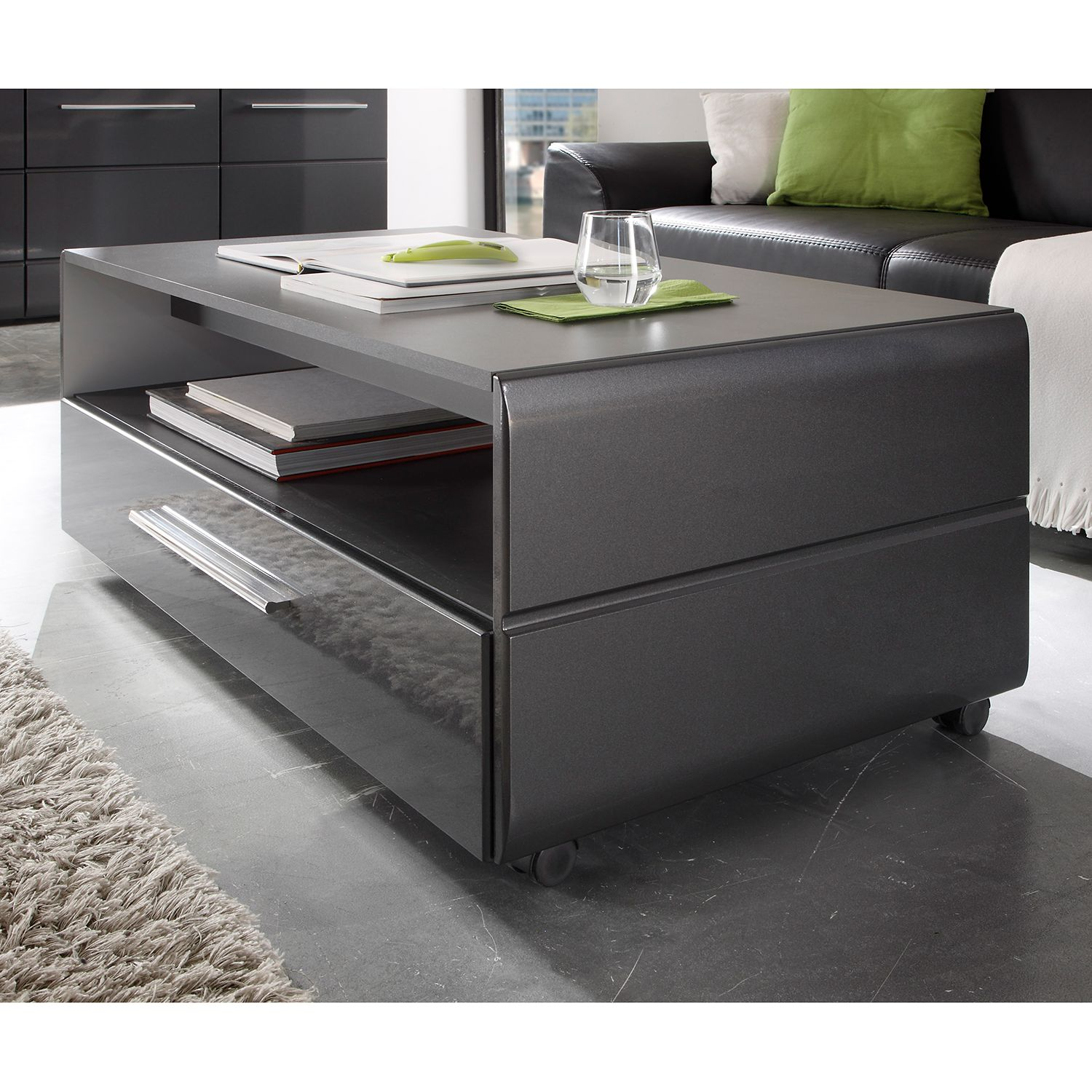 couchtisch hochglanz grau energiemakeovernop. Black Bedroom Furniture Sets. Home Design Ideas