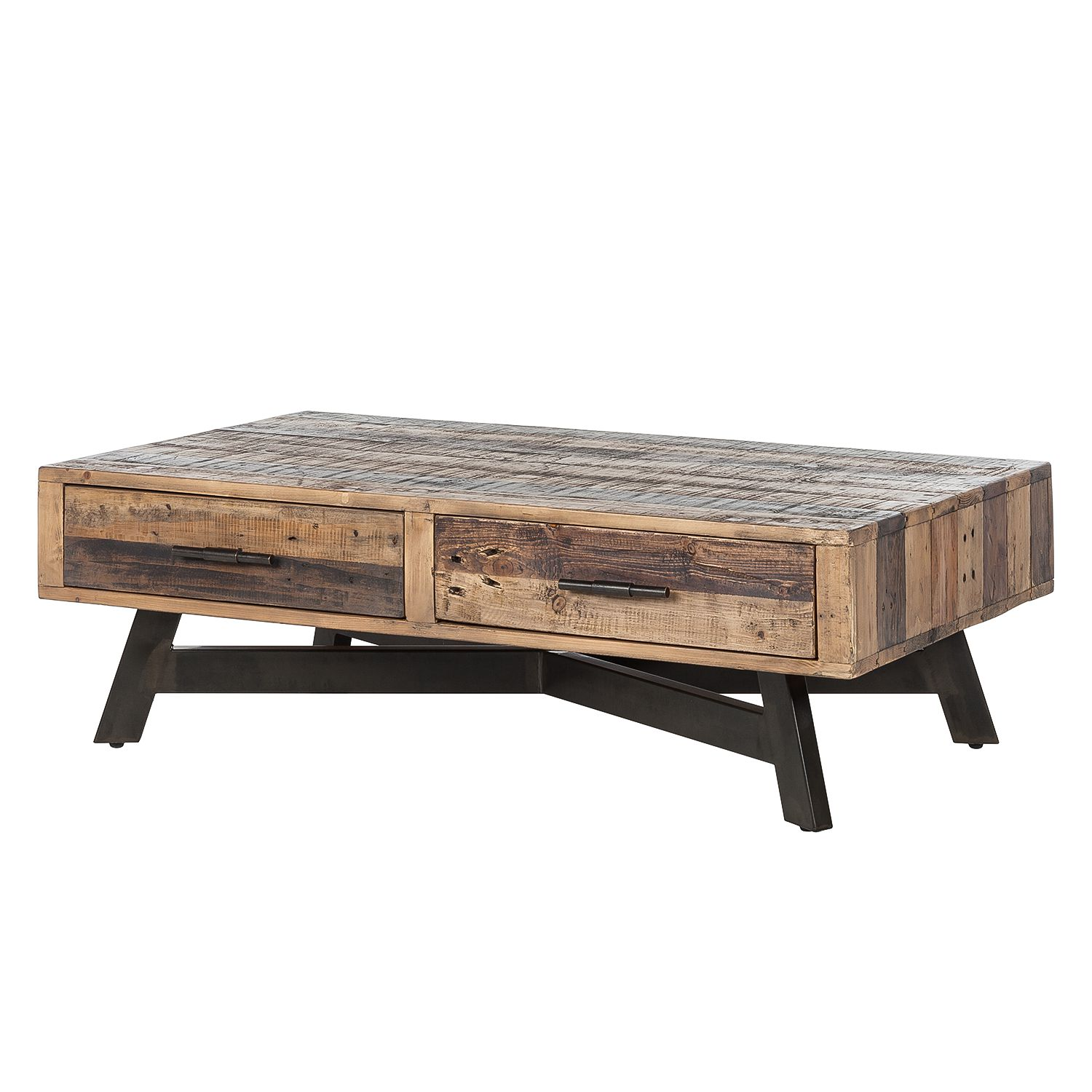 Table basse Tamati - Pin massif, ars manufacti