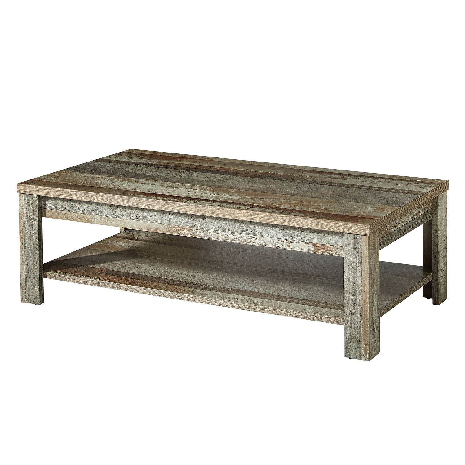Table basse Tapara - Marron / Gris, roomscape