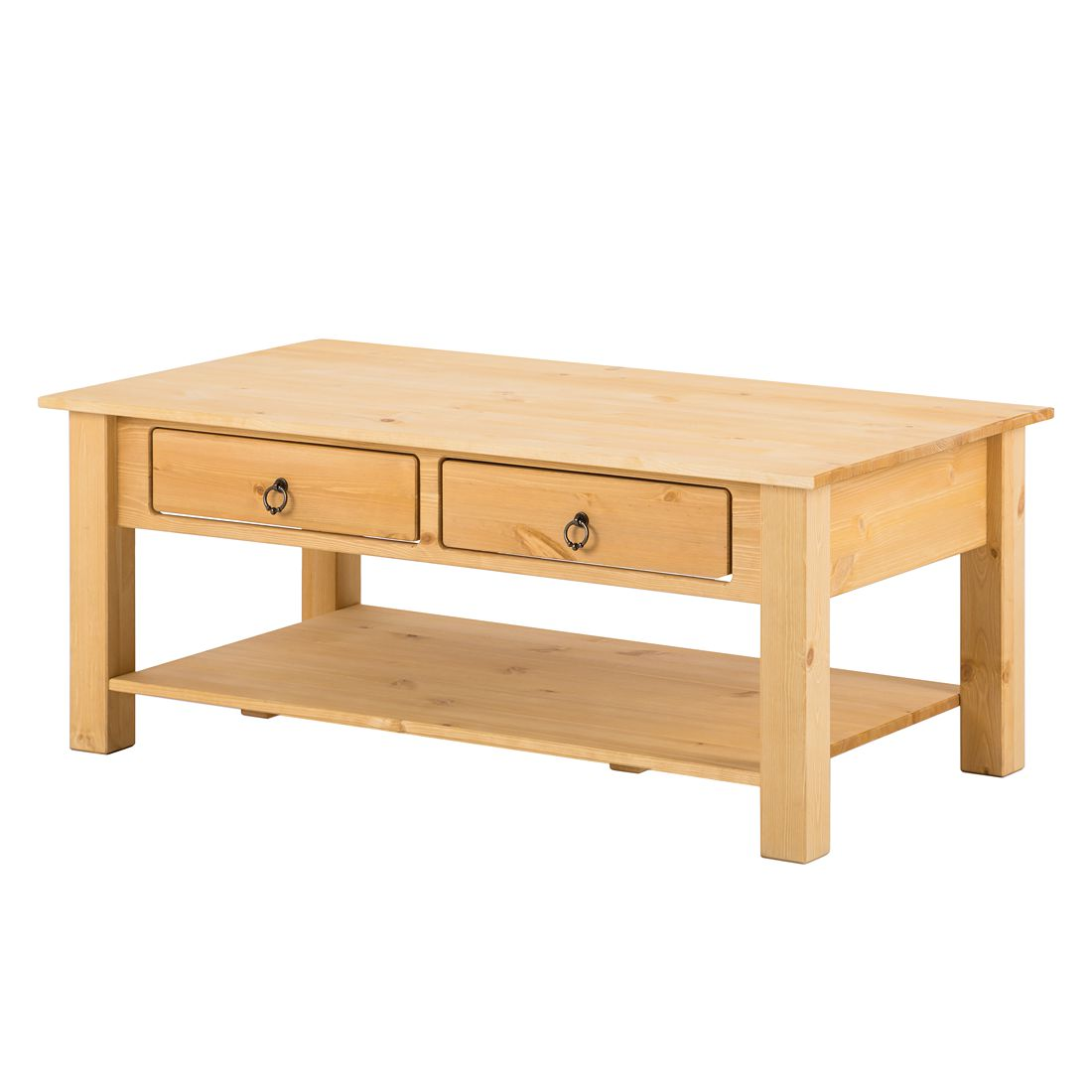Tavolino da salotto Valmer II - Legno massello di pino, Lars Larson