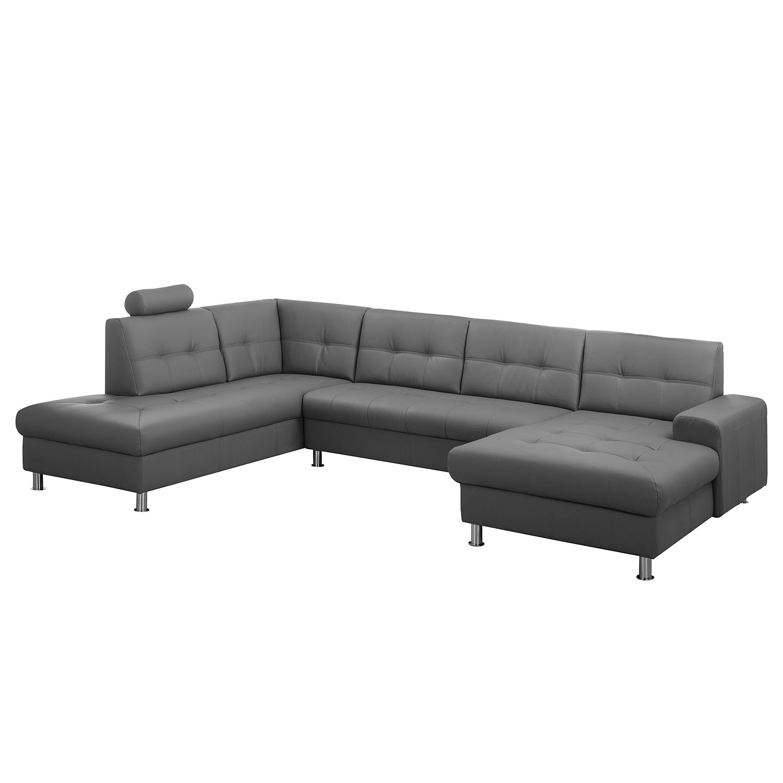 canap panoramique straid imitation cuir m ridienne longue droite. Black Bedroom Furniture Sets. Home Design Ideas