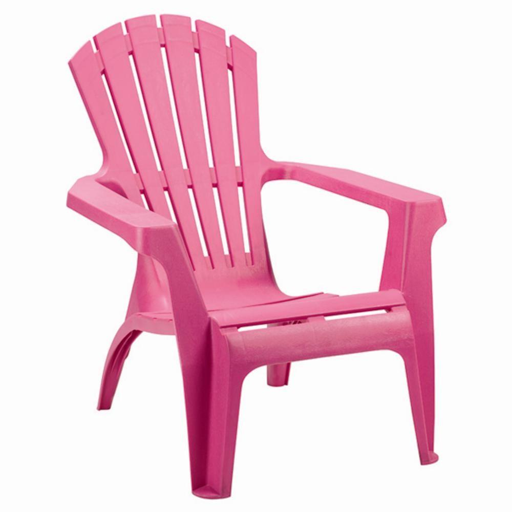 Deckchair Dolomiti II - Kunststoff - Pink, Progarden