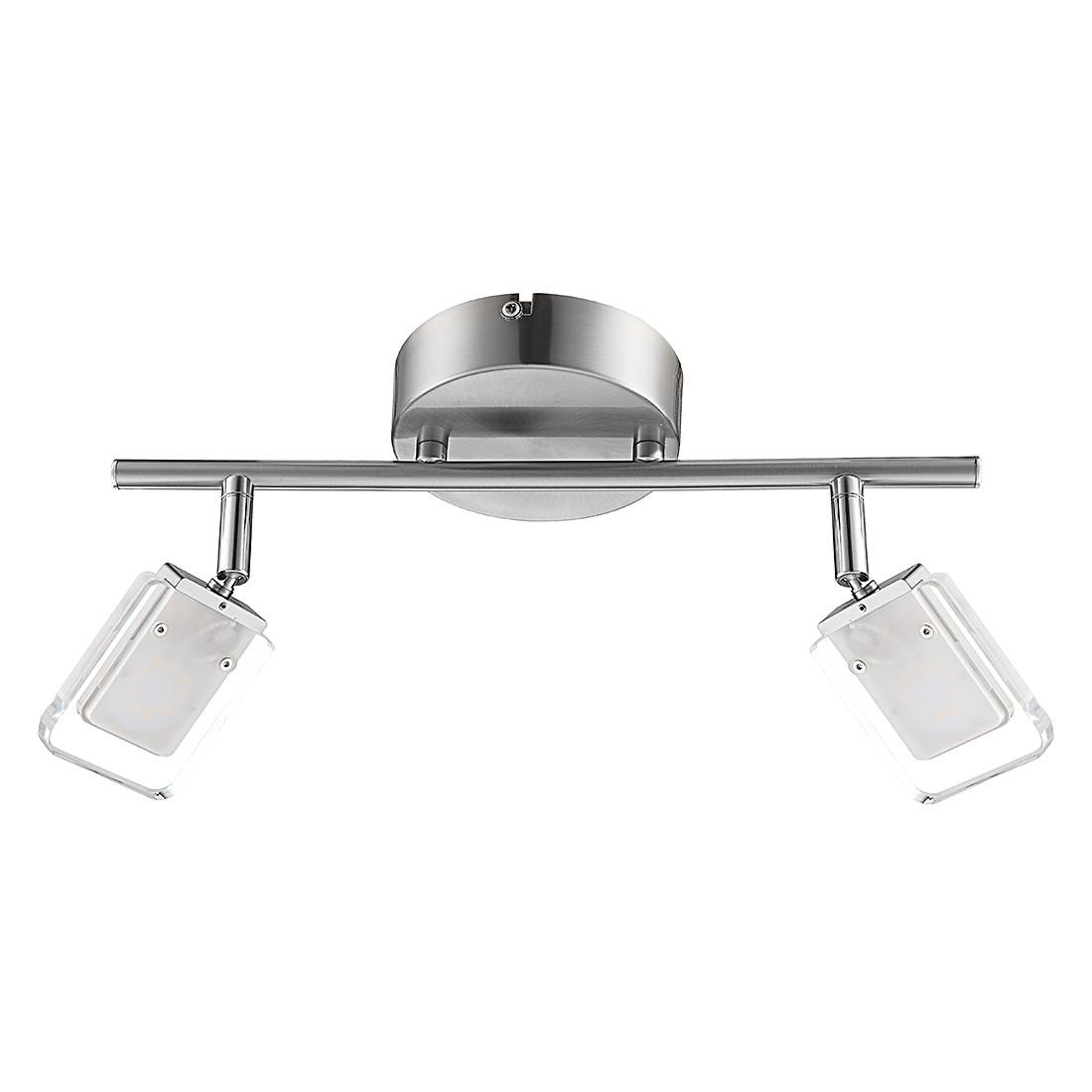energie  A+, Plafondlamp VILETA - metaal/glas 2 lichtbronnen, Wofi