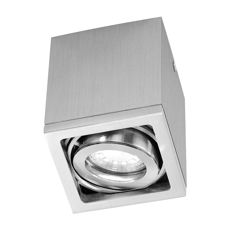 energie  A++, Plafondlamp Axena - ijzer zilverkleurig 1 lichtbron, Paul Neuhaus