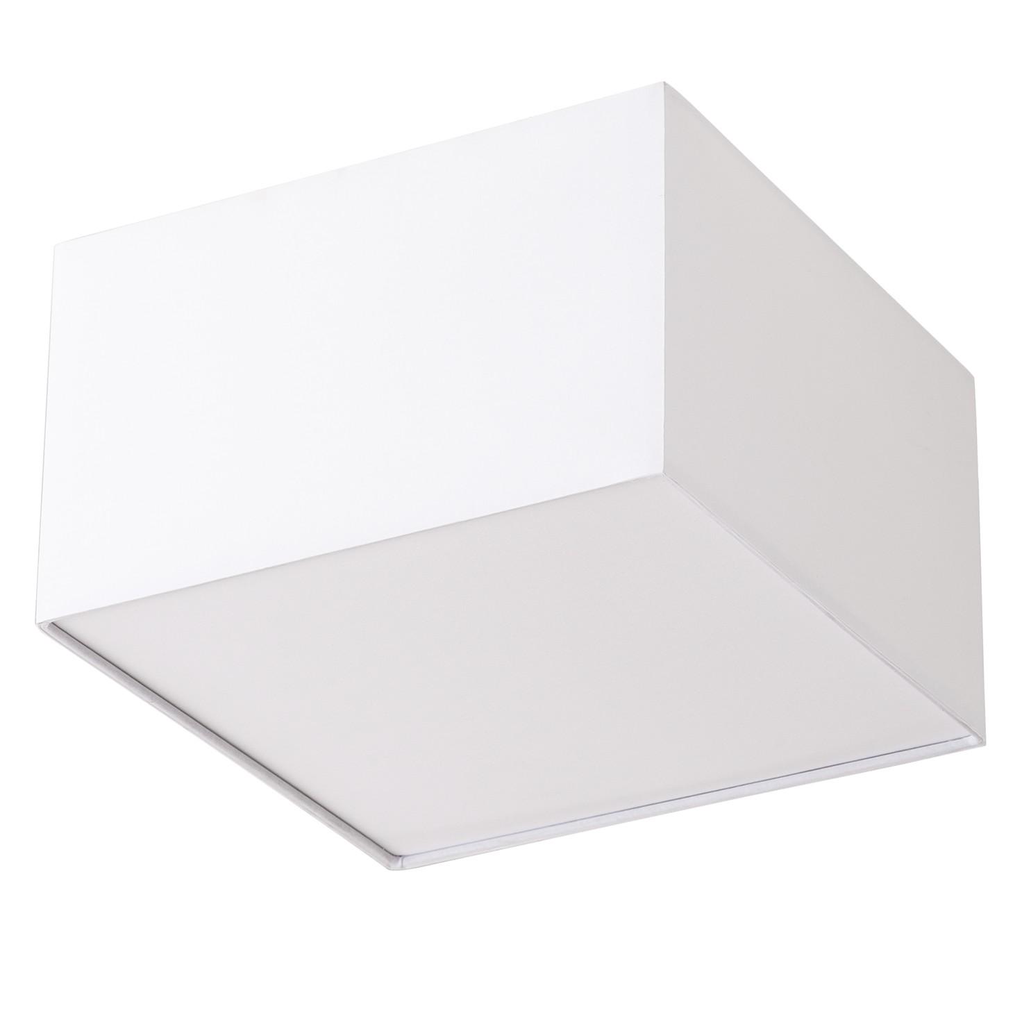 Türkendorf Angebote Deckenleuchte Borris - Webstoff / Eisen 30 Weiß