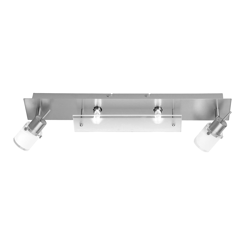 energie  A++, Plafondlamp Centura Le - ijzer zilverkleurig 4 lichtbronnen, Paul Neuhaus